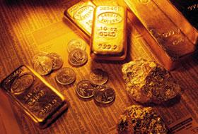 Placera pengar i guld
