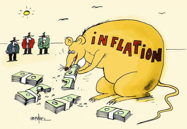 Inflationen äter på dina pengar