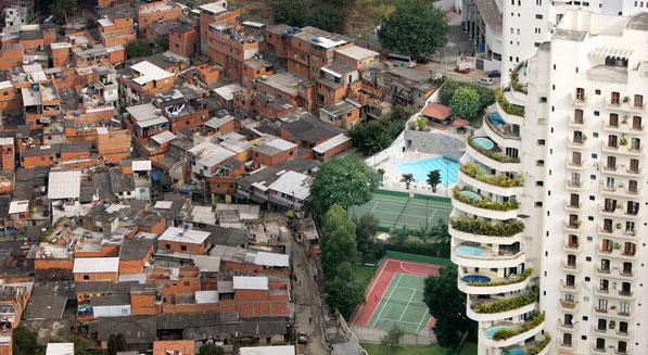 klyftor mellan fattiga och rika