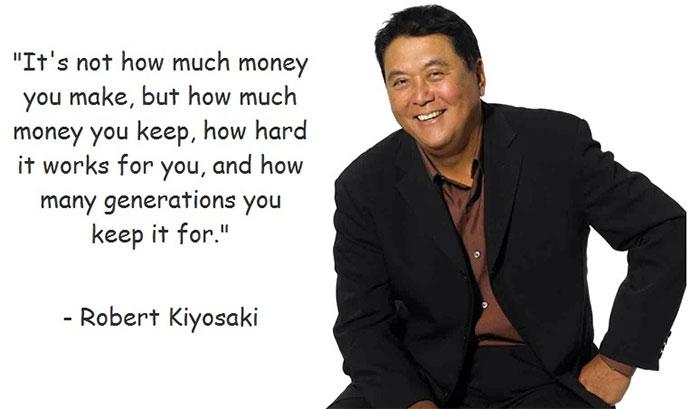 Robert Kiyosaki om att bli rik