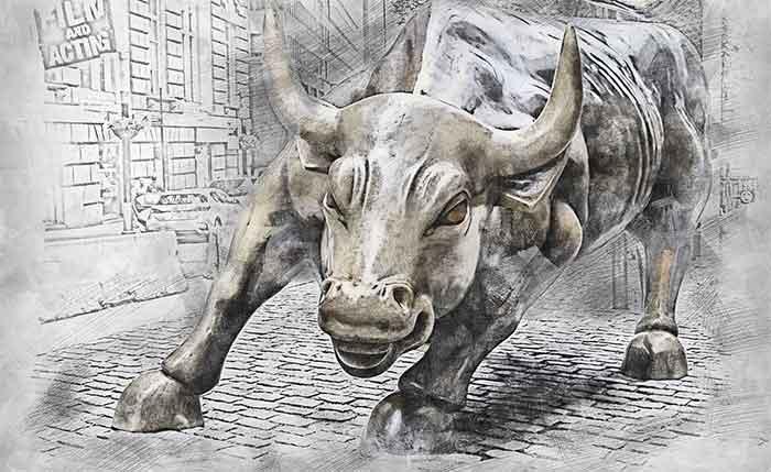 Panik på börsen