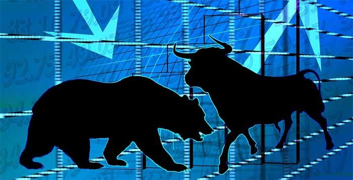 Hävstång med bull och bear