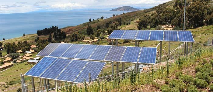 Investera i solenergi genom Trine